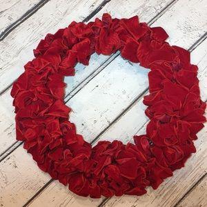 New Red Velvet Valentine Wreath!!